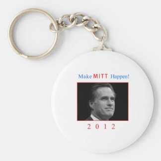 Make Mitt Happen! Keychain