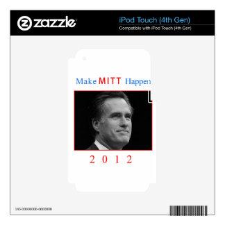 Make Mitt Happen! Skins For iPod Touch 4G