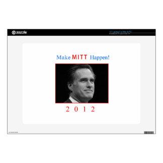 """Make Mitt Happen! Skins For 15"""" Laptops"""