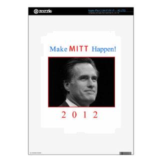 Make Mitt Happen iPad 3 Skin