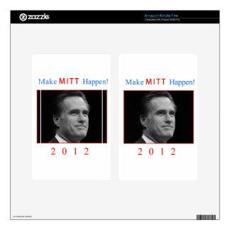 Make Mitt Happen! Kindle Fire Skin