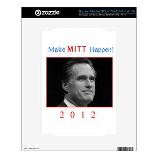 Make Mitt Happen! Skins For NOOK