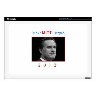 "Make Mitt Happen! Decals For 17"" Laptops"