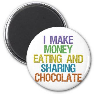 Make Money 2 Inch Round Magnet