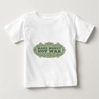 Make Money Not War Baby T-Shirt