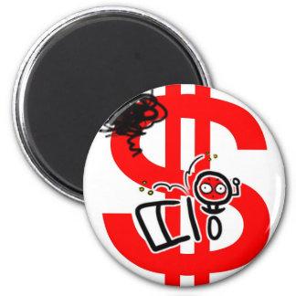 make money online 2 inch round magnet