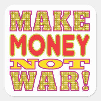 Make Money Square Sticker