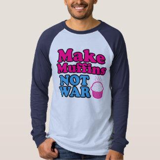 Make Muffins Not War Shirt