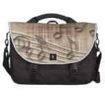 Make Music 03 beige Computer Bag