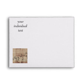 make music 03 beige envelopes