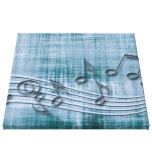 make music 03 blue gallery wrap canvas