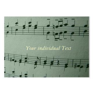 Make Music Business Card Template