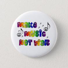 Make Music Button at Zazzle