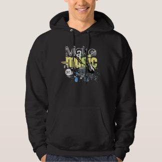 Make Music Hoodie! Hooded Sweatshirt