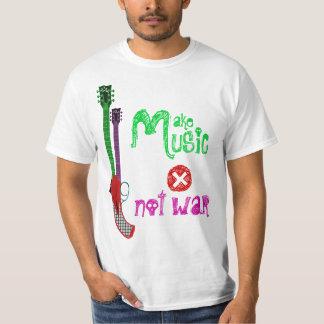 Make Music Not War T-Shirt