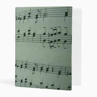 Make Music, silver Mini Binder