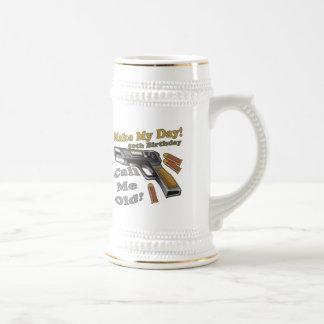Make My Day 50th Birthday Gifts 18 Oz Beer Stein