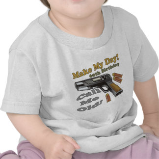 Make My Day 60th Birthday Gifts Tees