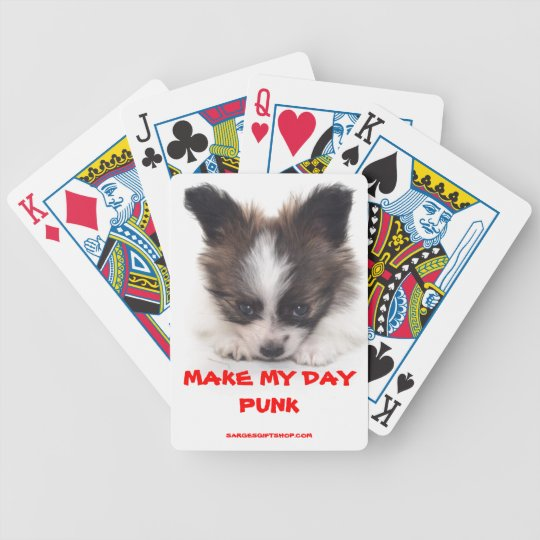 MAKE MY DAY BICYCLE PLAYING CARDS