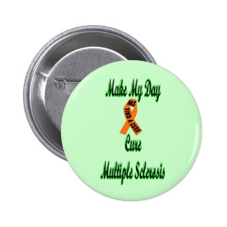 make my day-cure ms Green Background Buttons