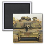 Make My Day M1A1Abrams MBT 2 Inch Square Magnet