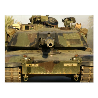 Make My Day M1A1Abrams MBT Post Card