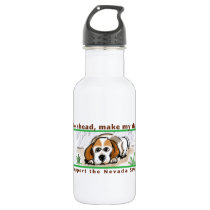 Make My Day Support the NSPCA! Stainless Steel Water Bottle