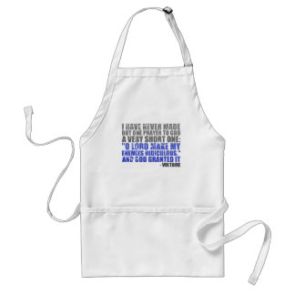 Make My Enemies Ridiculous Adult Apron
