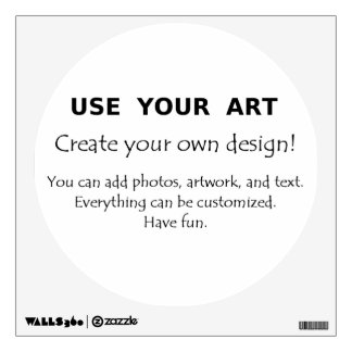 Make my own gifts using my art fun easy templates wall sticker