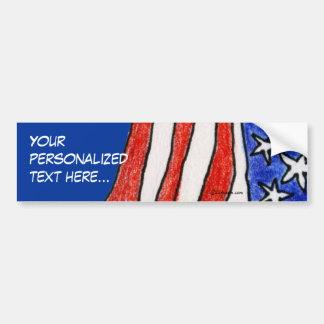 Make My Own Patriotic Bumper Sticker
