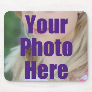 MAKE MY OWN PERSONALIZED PHOTO Christmas Gift Xmas Mouse Pad