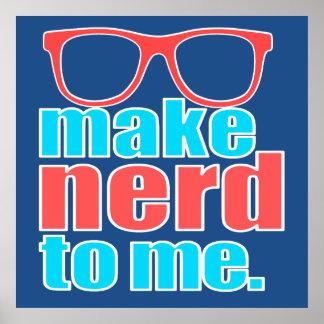 Make Nerd to Me Poster