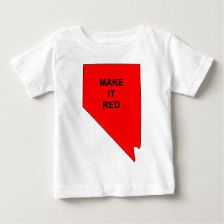 Make Nevada Red Baby T-Shirt