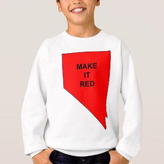 Make Nevada Red Sweatshirt