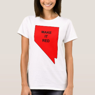 Make Nevada Red T-Shirt