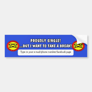 Make new friends! bumper sticker
