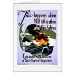 Make New Orleans Safe 1943 WPA Card