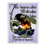 Make New Orleans Safe 1943 WPA Poster