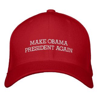MAKE OBAMA PRESIDENT AGAIN - Red Trump Hat Parody