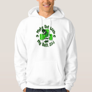 Make out with a Leprechaun's Butt (cheap) Hoodie