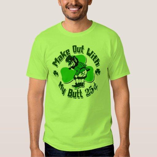 Make Out With A Leprechaun 39 S Butt Cheap T Shirt Zazzle