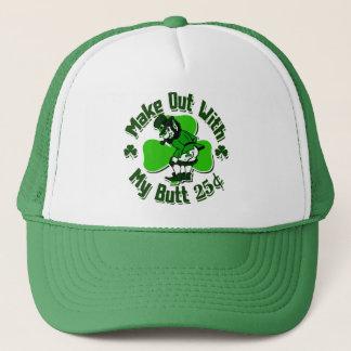 Make out with a Leprechaun's Butt (cheap) Trucker Hat
