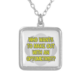 Make Out With an Optometrist Necklace