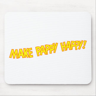 make pappy happy mouse pad