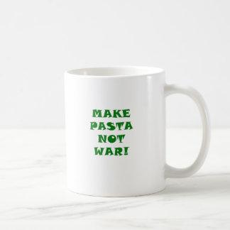 Make Pasta Not War Coffee Mug
