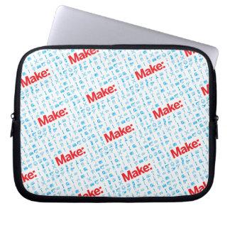 Make Pattern Laptop Sleeves
