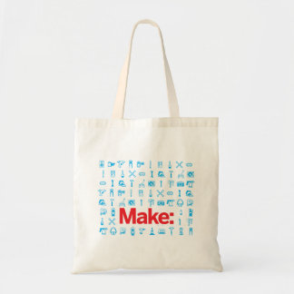 Make Pattern Tote Bag