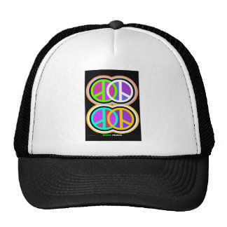 MAKE PEACE Art Trucker Hat