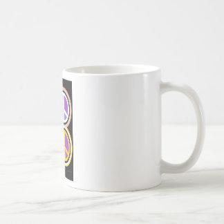 MAKE PEACE Art Coffee Mugs