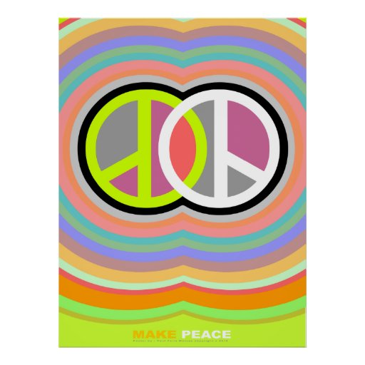 Make Peace Poster